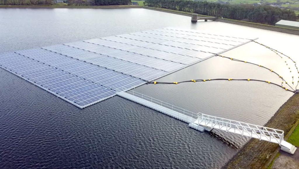 floating solar farm lancaster